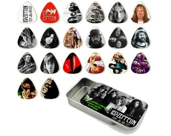 Led Zeppelin Guitar Pick Gift Set - Set of 20