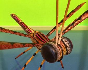 Alebrije - Dragonfly by Zeny Fuentes