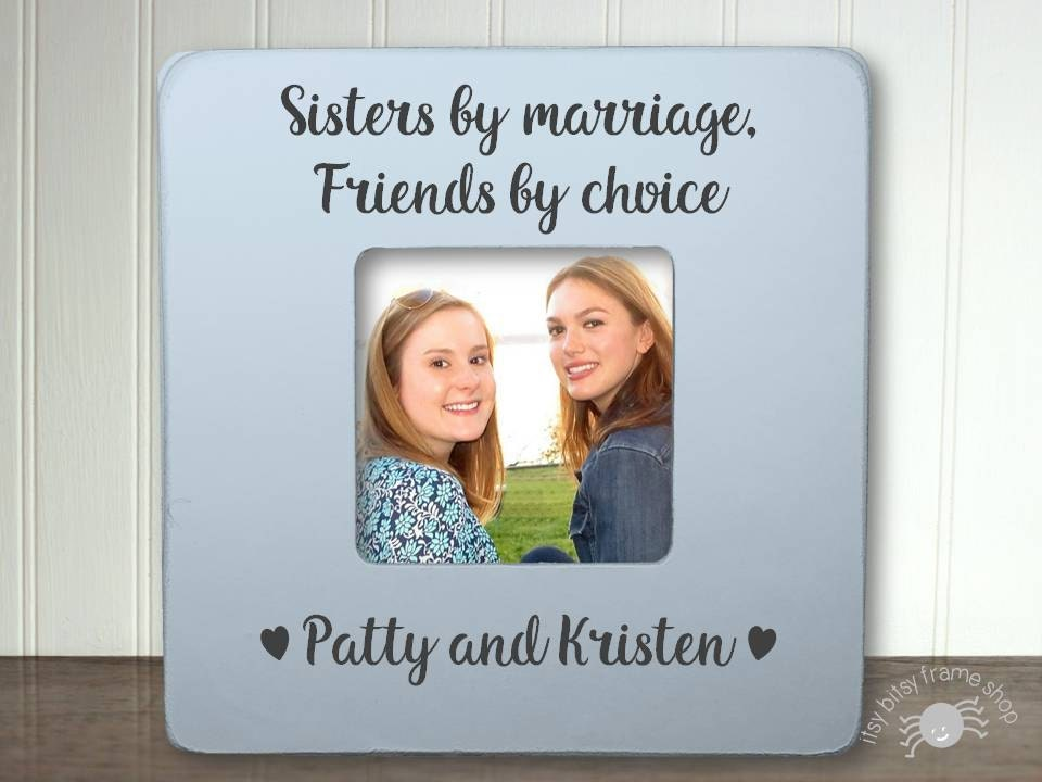 Wedding Gifts For Sisters: Sister In Law Gift Gifts For Sister In Law Sister In Law