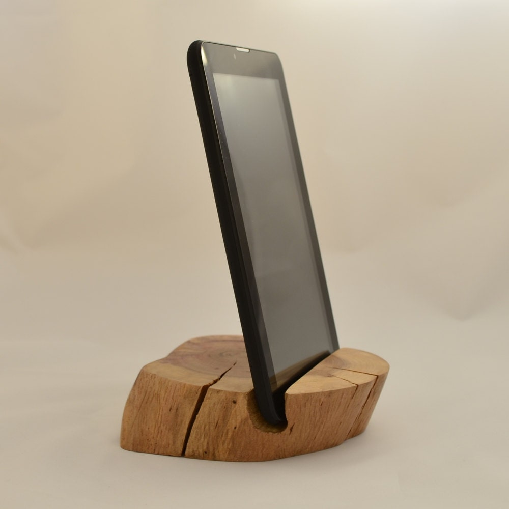 Wooden Phone Stand ~ Iphone stand ipad wooden phone tablet