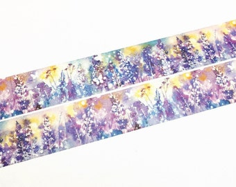 Lavender blossom washi tape (T00481)