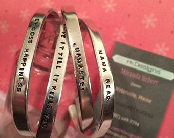 Customizable bracelet