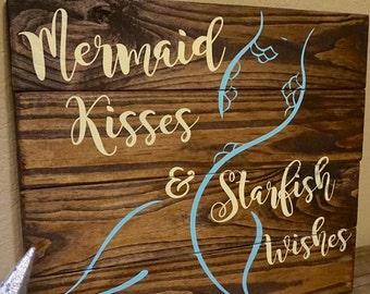 Mermaid Pallet Art