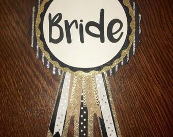 Bride Bachelorette Party Pin