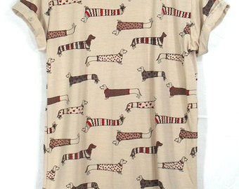 Dog Shirt, Womens T Shirt, Full print shirt, Summer shirt, clothing tshirt ,Graphic tee shirts