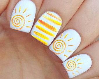 It's So SUNNY ! Summer Nail decal