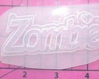 Zombie Word - Plastic Resin Mold