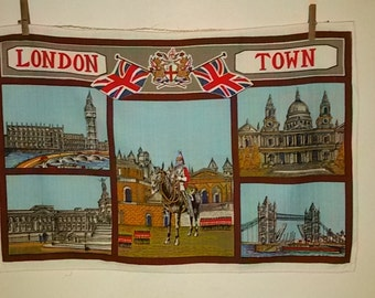 Torchon 'London Town 'cotton' Vintage 60's – 70's / Vintage