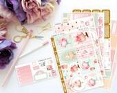 Birthday Vertical Weekly Kit-- Matte Planner Stickers