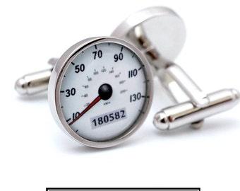 Custom Car Speedometer Cufflinks