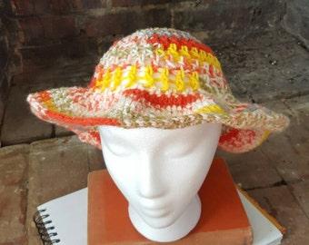 Crochet Floppy Hat, Summer Hat, Spring Hat, Floppy Sun Hat, Sun Hat, Summer Gifts for Women, Handmade Floppy Hat, Spring Gift FREE SHIPPING