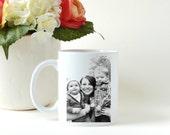 Custom Photo Coffee Mug * Birthday Gift * Personalized Coffee Cup * Ceramic Mug * Photo Mug * Custom Photo Mug * Custom Coffee Mug