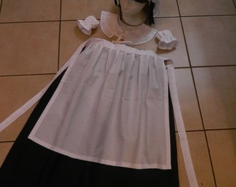 Girls/ladies 5 piece florence nightingale, victorian, edwardian, dressing up set, fancy dress outfit