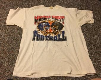 Monday night sports etsy for Vintage miller lite shirt