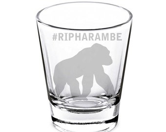 Harambe Shot Glass