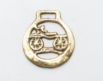 Cart Horse Brass - Equestrian Collectable Christmas Tree Decoration 7 year wedding anniversary gift