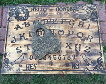 THE MASTER BOARD ouija board : rustic spirit ouija talking board