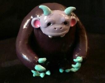 Mini Monster Ooak Figurine
