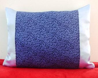 Cushion Deco satin and liberty of london