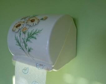 Vintage French Toilet Paper Holder, Gilac