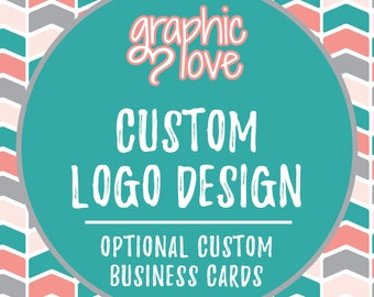 Custom Logo Design, Graphic Love Shop | Business Cards, Branding, Graphic Designer, Small Business, Ohio, Unlimited Changes