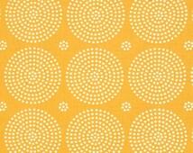 Atrium Eclipse Gold Yellow Blender Coordinate Cotton Fabric by Joel Dewberry for Free Spirit Fabrics per fat quarter per metre
