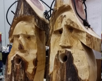 Bird house Wood Spirit