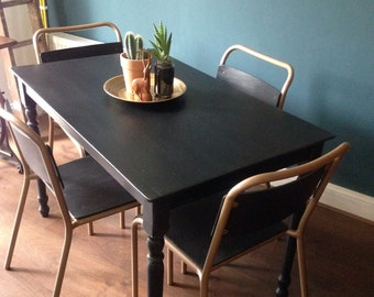 Retro vintage Midcentury chairs and table