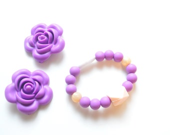 Silicone Bracelet for Toddler - Kids Jewelry - Baby Bracelet - Teething Bracelet - Toddler Bracelet - Toddler Gift - Baby Jewelry