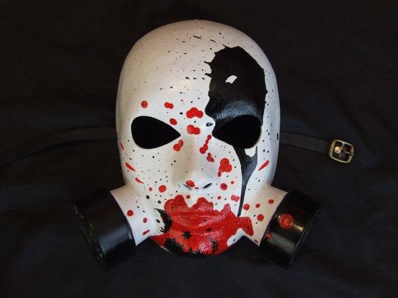 hollywood undead jdog mask hand made paper mache