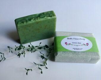 Green Aloe Soap