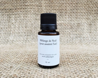 Blend of essential oils for Christmas (clean air) - 15 ml bottle