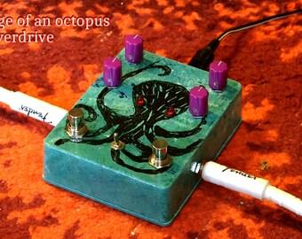Octopus Fuzz Distortion Guitar Pedal