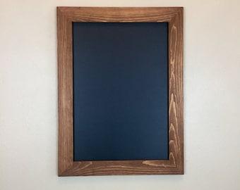 """Rustic Framed Chalkboard  24"""" x 18"""" /  24 x 24 """"  -   (wood chalkboard, rustic wood chalkboard, wedding sign)"""