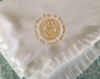 Baby Baptismal Blanket