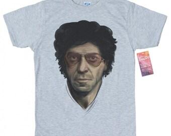 Lou Reed T shirt Artwork