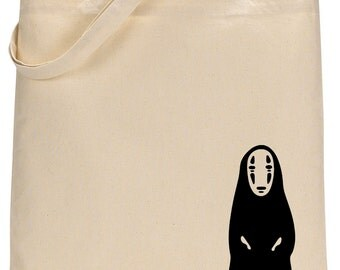 Studio Ghibli No Face from Spirited Away tote bag