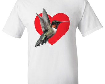 LIMITED EDITION - We Love Ruby-Throated Hummingbirds T-Shirt