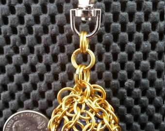 Aluminum chainmail Keychain