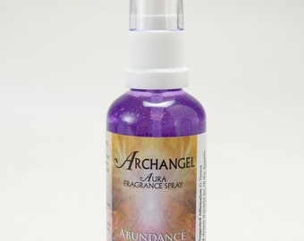 Archangel Aura Spiritual Aromatherapy Fragrance Spray   -   Abundance and Wealth