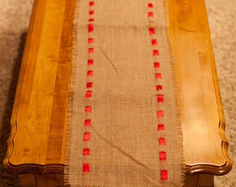 6 Foot Burlap Table Runner