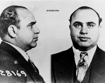 Al Capone Mugshot Poster Art Photo Artwork 12x18 20x30 and/or 24x36
