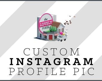 Custom Instagram Profile Picture / Icon