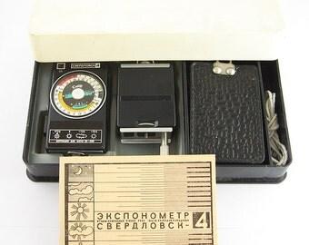 SVERDLOVSK 4 KIT Reliable Russian Light Meter BOX