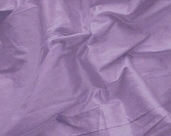 Pure Silk Dupioni - Purple - 100% Silk - SLDP36