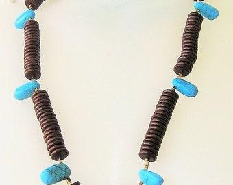 Three in One Magnesite Necklace
