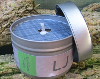 Scented Soy Candle Tin - TRADITIONS