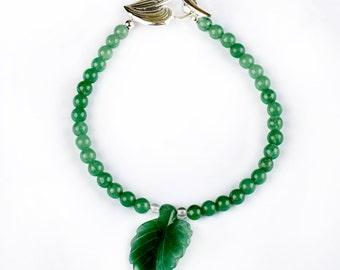 Mint - bracelet of Aventurine