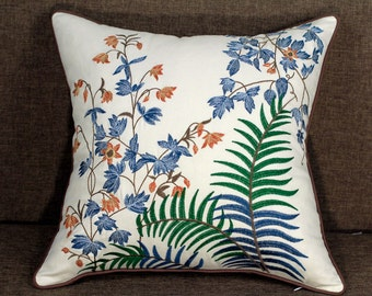 Chanon Embroidered Pillow Cover