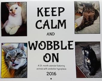2016 Calendar - Keep Calm and Wobble On